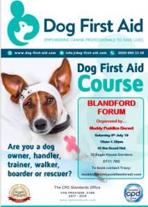 Blandford Dog First Aid 06.07.19